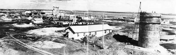 на строительстве завода № 443
