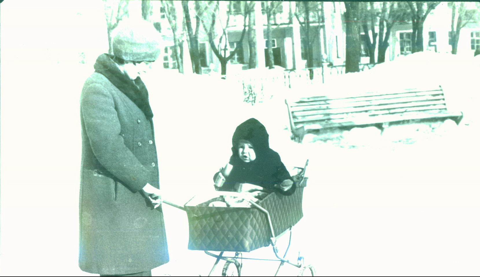 я в коляске у Ленина