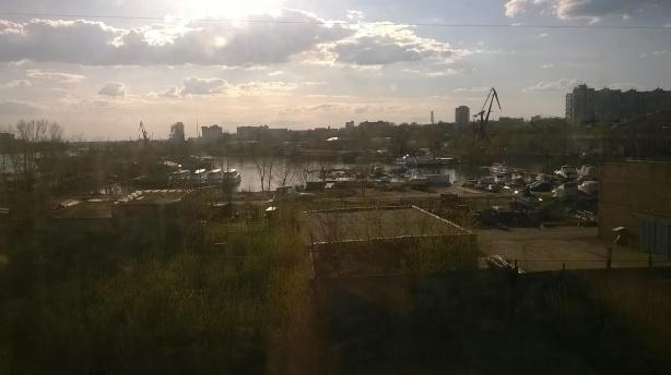 Старая бухта р. Самара